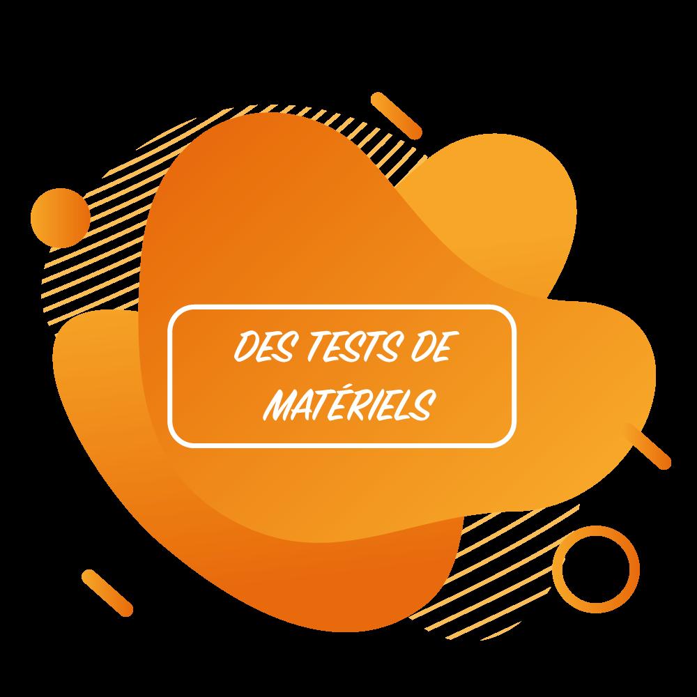 """Tests de matériels durant le """"Printemps des marques"""""""